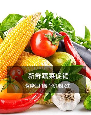 新鲜蔬菜促销