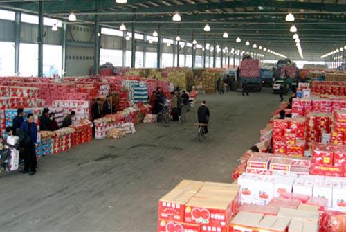 锡澄果菜副食品交易市场